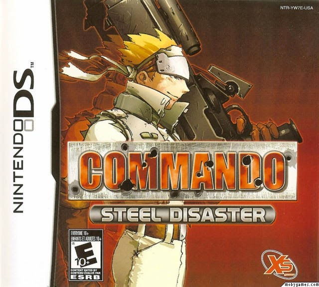 Commander Steel Disaster game rom cover