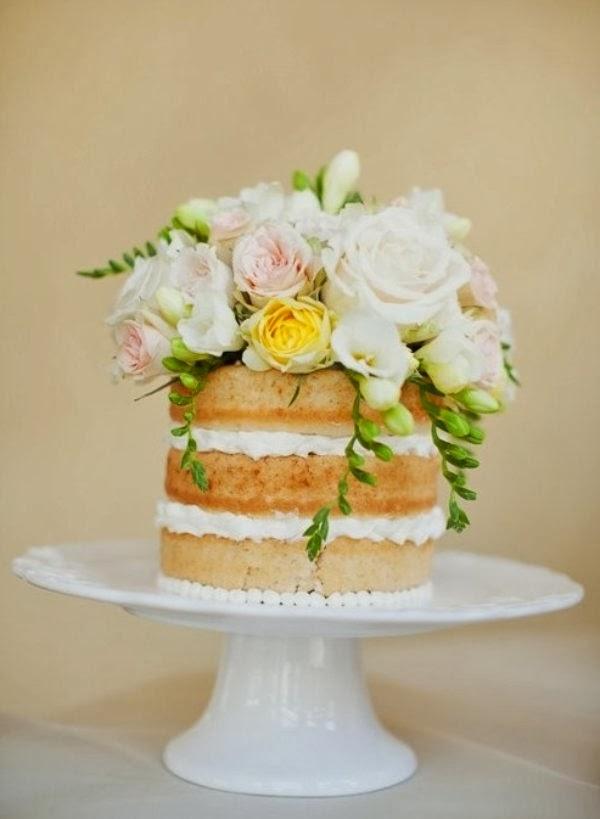Deconstructed Wedding Cakes