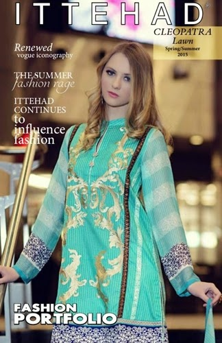 CLEOPATRA Embroidered Lawn 2015