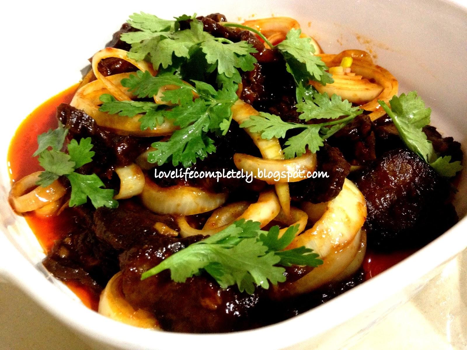 Ayam masak merah recipe - HungryGoWhere Singapore