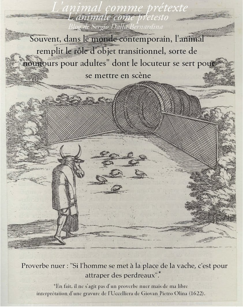 L'animal comme prétexte (blog de Sergio Dalla Bernardina)