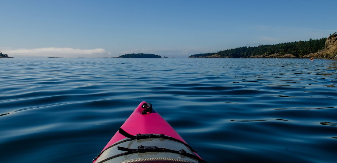 Kayaking Lopez Island