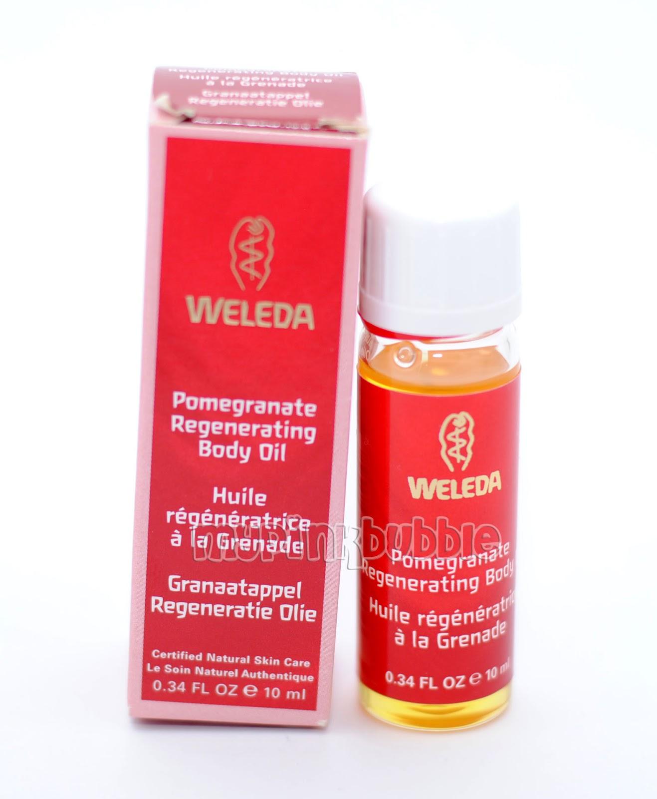 weleda aceite regenerador de granada