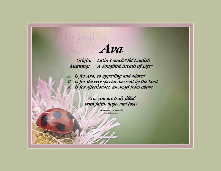 What Does The Eminence Ava Mean In Hebrew