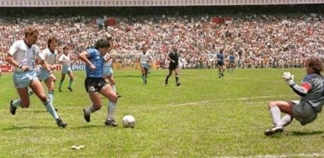 2° gol de Maradona contra Inglaterra copa do mundo 1986