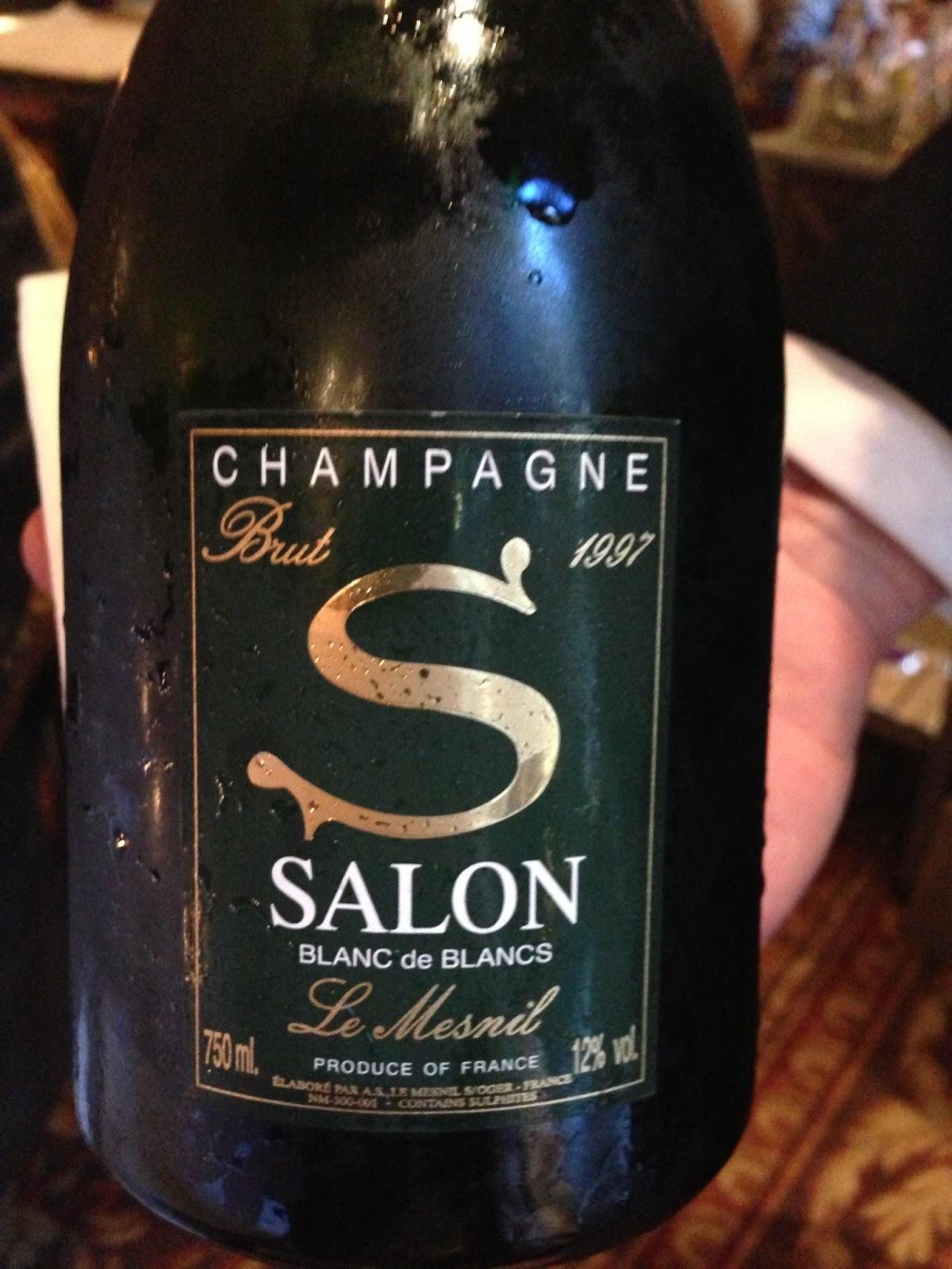 Madeinargentina un paseo por la maison de champagne salon for 1997 champagne salon