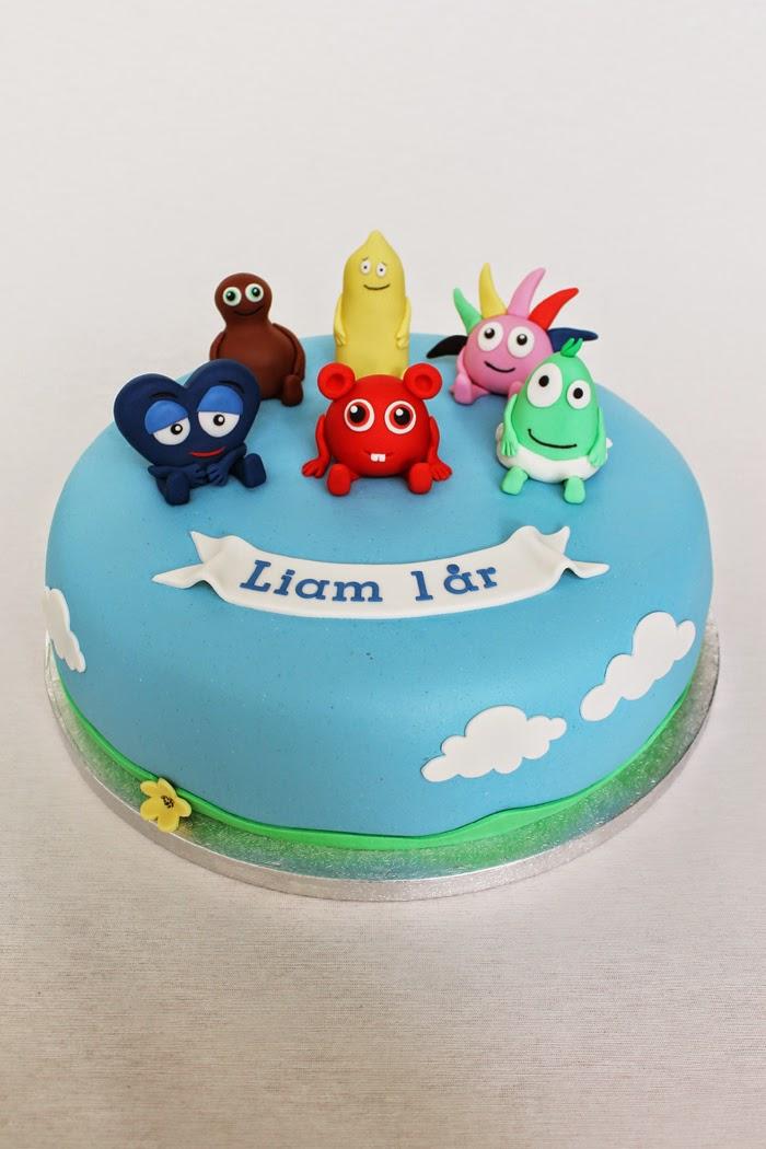 figurer till tårta