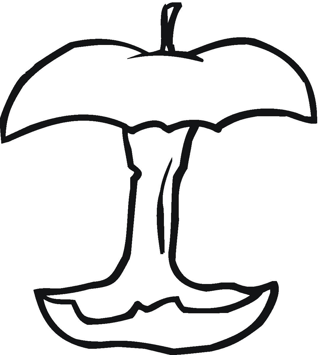 Apples coloring pages learn to coloring for Apple coloring pages