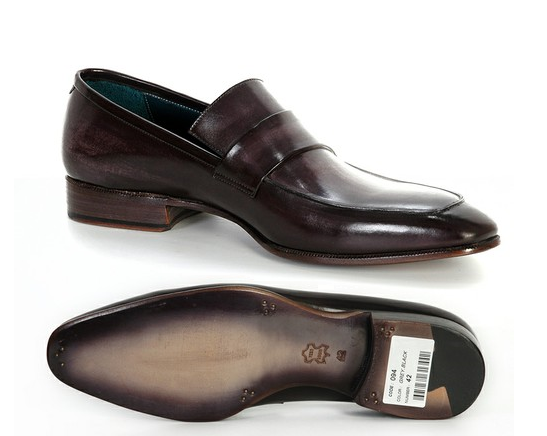 http://paulparkman.tictail.com/product/paul-parkman-mens-loafer-black-gray-hand-painted-leather-upper-with-leather-sole-id093