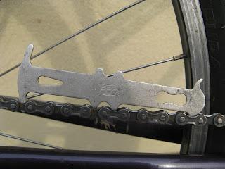 kontrola stanu łańcucha rowerowego - łańcuch świeży
