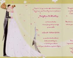 Texte invitation pour le mariage