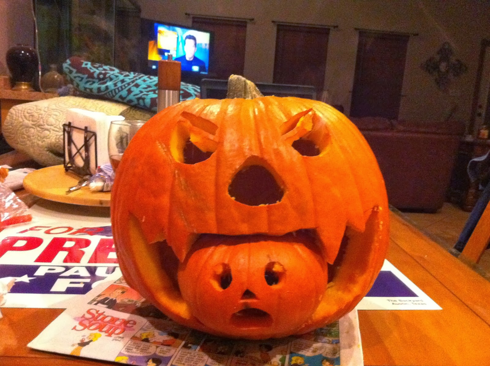 Dreams More Real Than Reality: Halloween Pumpkin Carvings