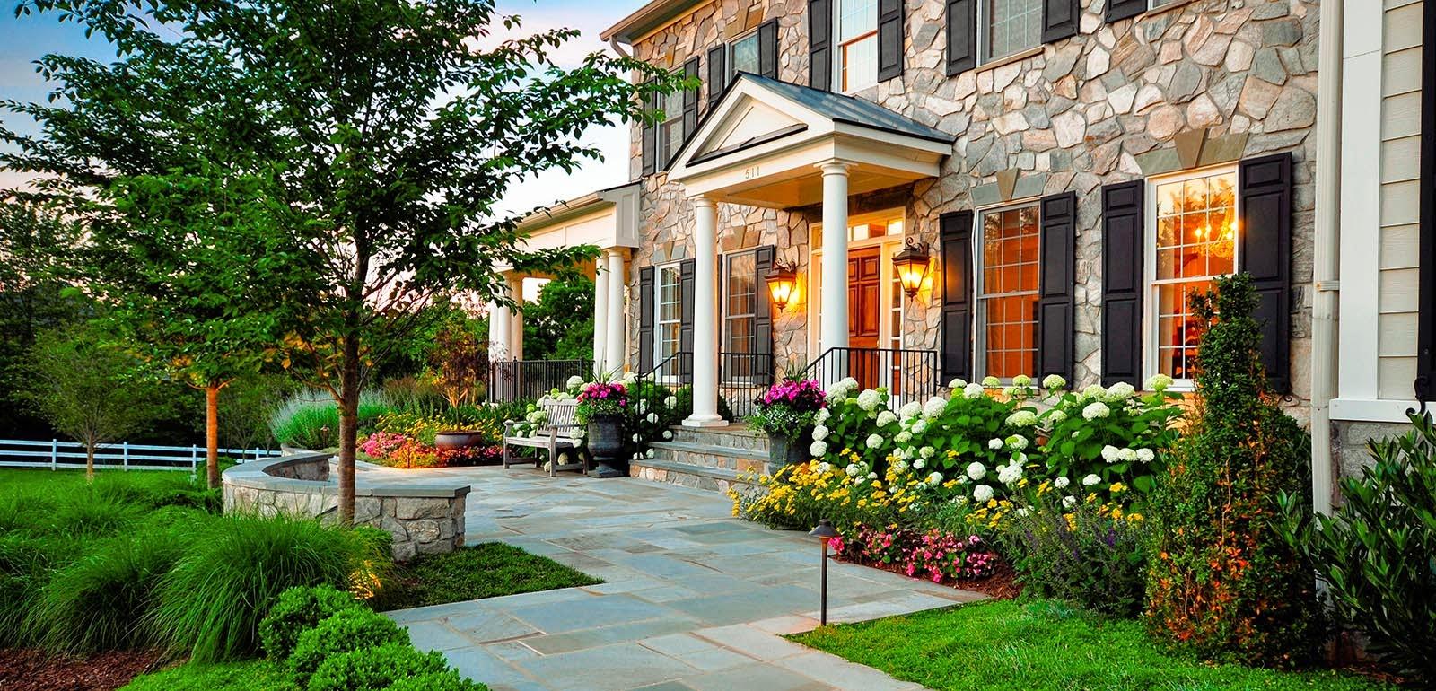 Hogares frescos olvida el aspecto tradicional modernas - Ideas para jardines de casa ...