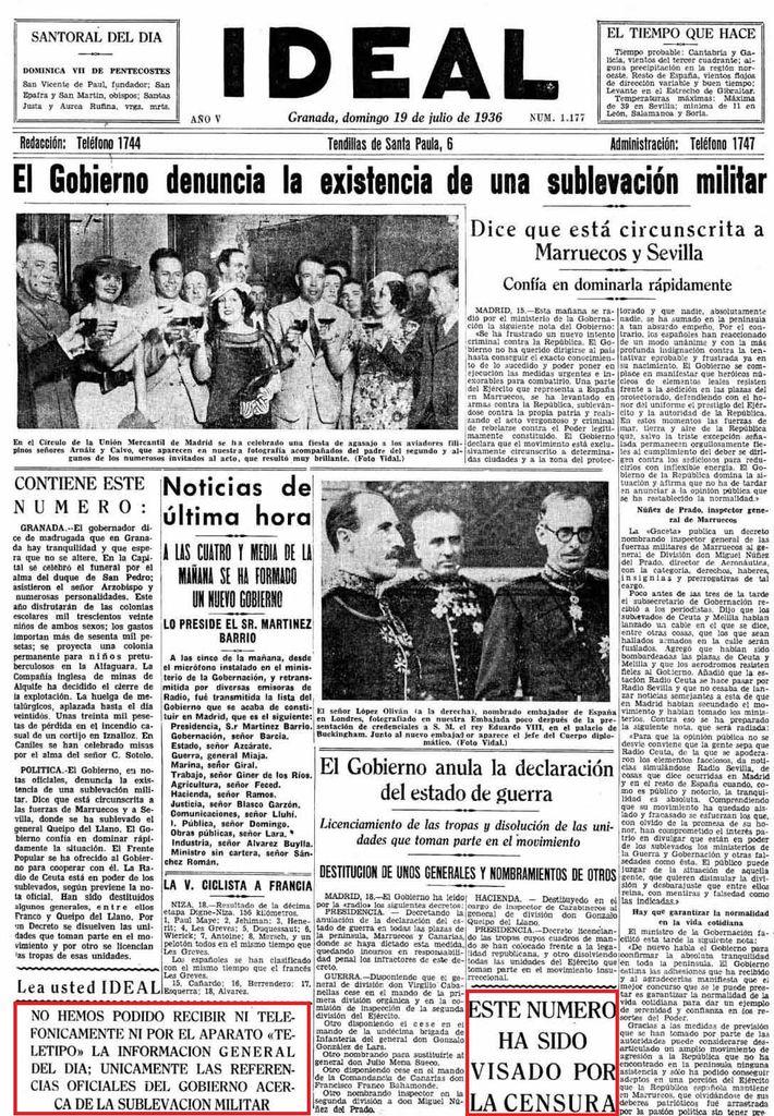 19 agosto 1936: