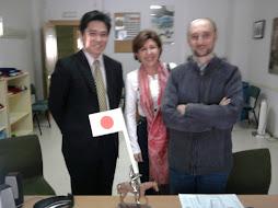 VISITA DEL SEÑOR MASUHIRO AL IES ALBAYTAR, EXPERTO EN CULTURA E INTERCAMBIOS CON JAPÓN.