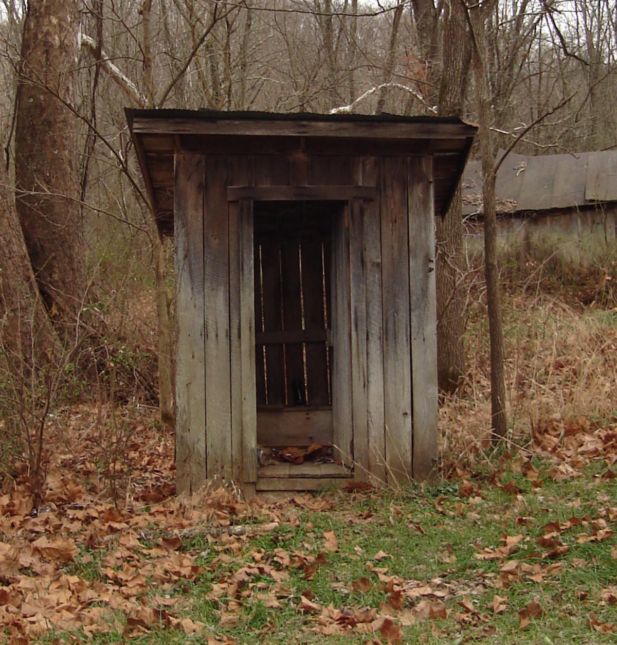 Old outhouse r rated totus for Outhouse pictures
