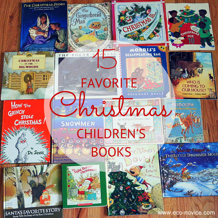 15 Favorite Children's Christmas Books ~ Eco-novice