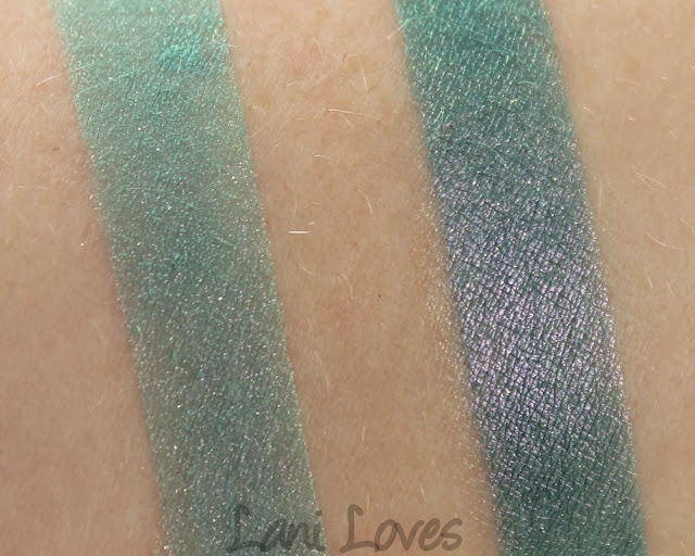 Darling Girl Backroom Striptease eyeshadow swatches & review