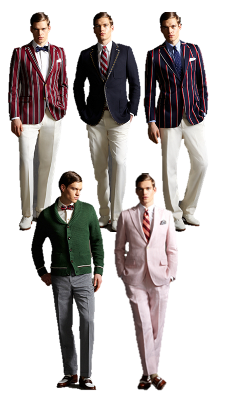 Timeless Look Great gatsby Collection Brooks Brothers suits men