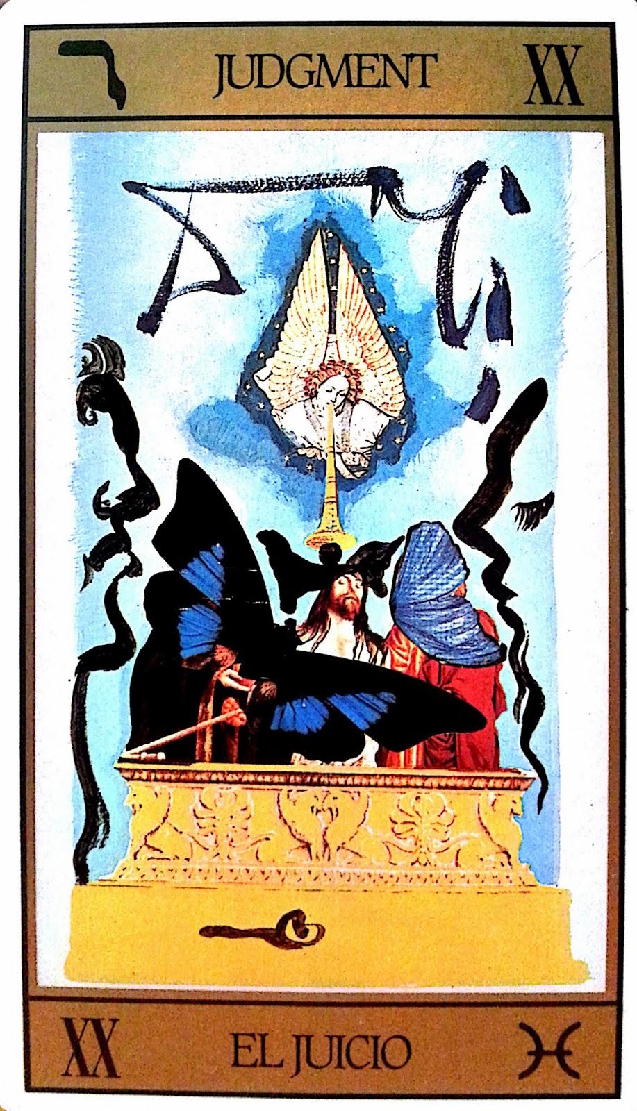 El Juicio- Tarot Dalí