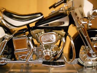 coleccionable de motos a escala de Harley-Davidson