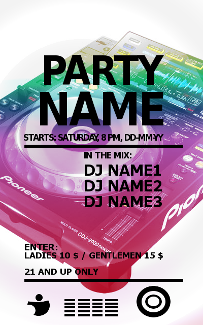 How To Make a Good Poster For Party? - Digital DJ Gear