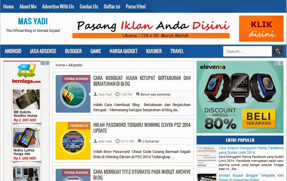 Tips Membuat Postingan Warna-Warni Seperti Blog Kang Ismet