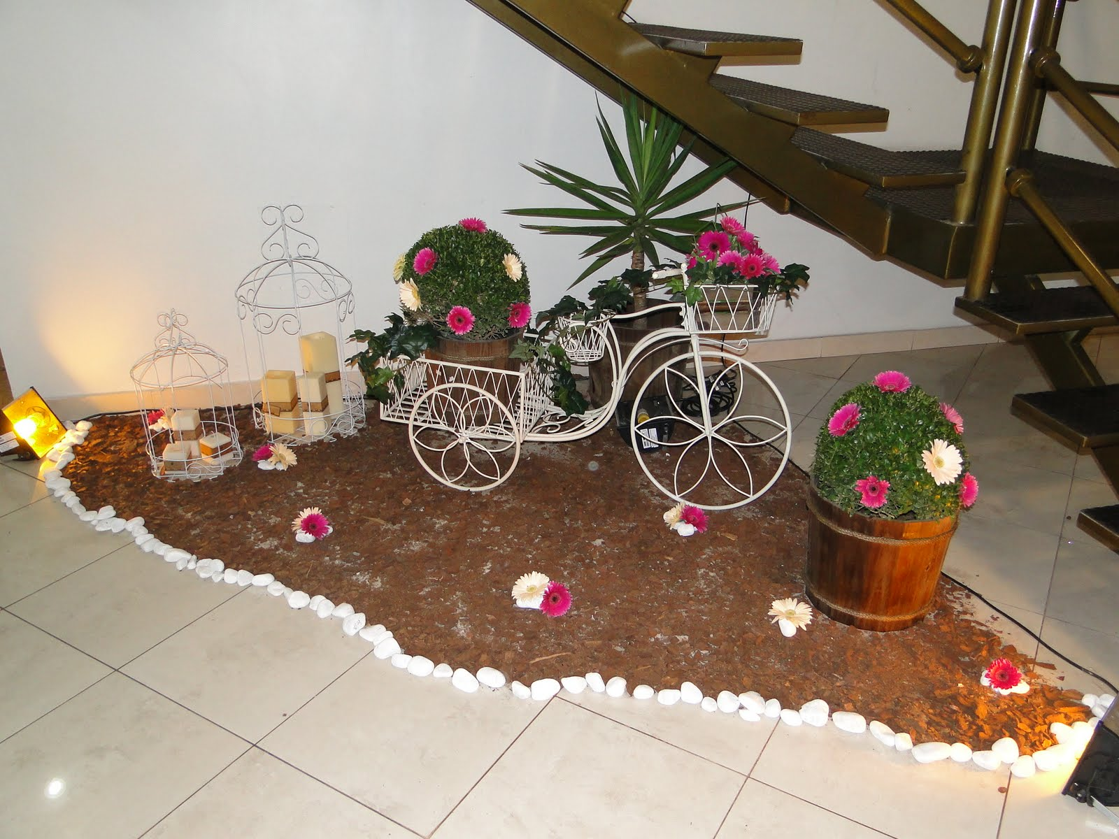 BODAS+DE+PRATA+007 Decoração de jardim de inverno