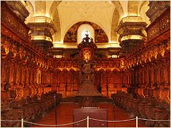 coro de la catedral de cusco