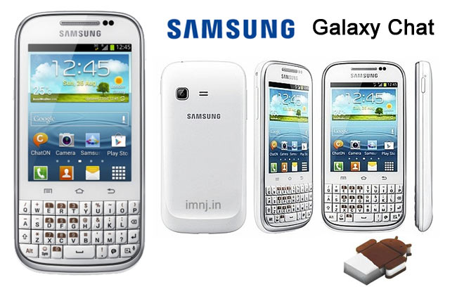 Android QWERTY Keyboard - Samsung Galaxy Chat B5330