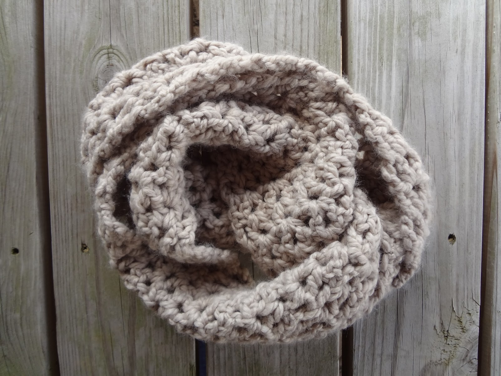 Free Crochet Pattern Pavement Infinity Scarf : Fiber Flux: Free Crochet Pattern...Pavement Infinity Scarf!