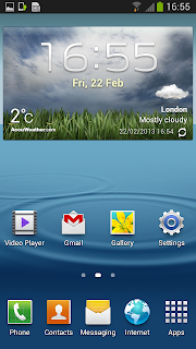 Samsung Galaxy SIII Android 4.2.1 Jelly Bean Look