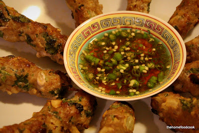thehomefoodcook - pork skewers - with chilli