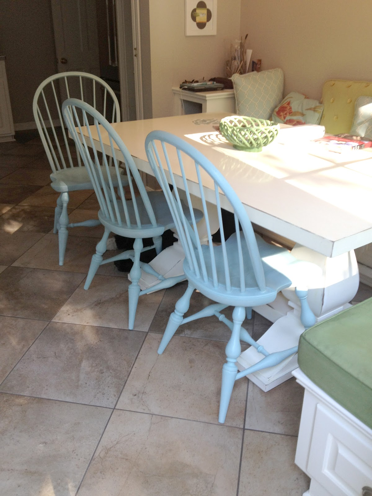 Changing up the chairs + a chalk paint review | The Impatient Gardener