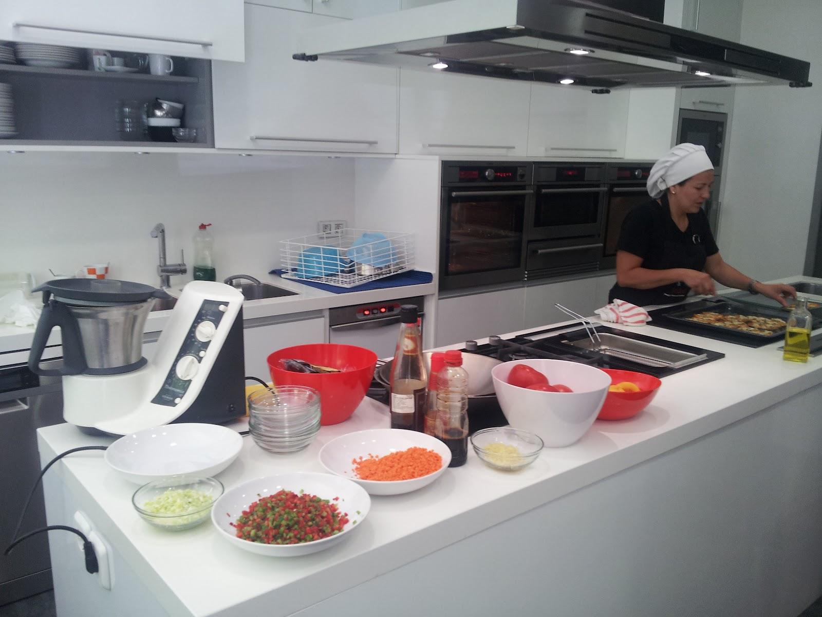 Cooking design art cayena aeg - Cayena escuela de cocina ...