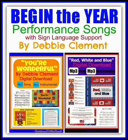 Begin the Year by Singing: Original Songs by Debbie Clement