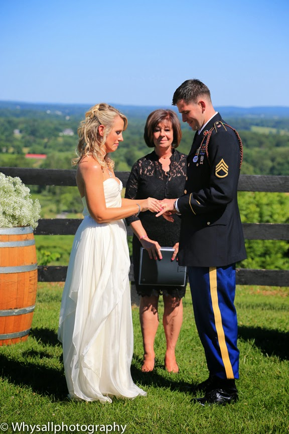 bluemont vineyard wedding photo