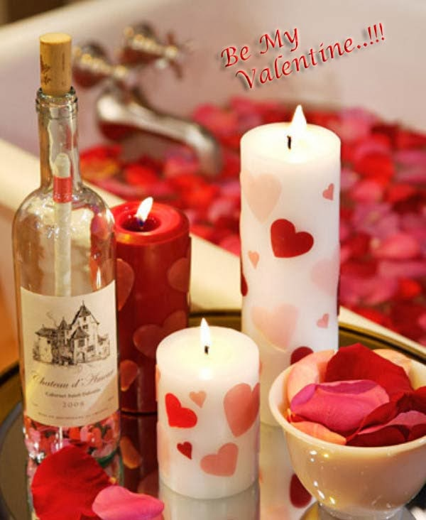 new and latest valentines day candle gifts