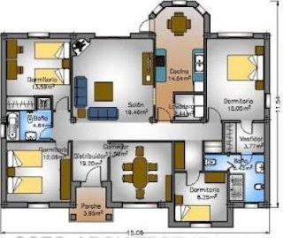 Planos de casas modelos y dise os de casas noviembre 2012 - Planos casas de lujo ...