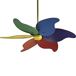 A busy lizzie life busy creating hand painted ceiling fan i found an idea online here to paint your own design who would have thought the very next day i was at the light store buying cheap contractors aloadofball Images