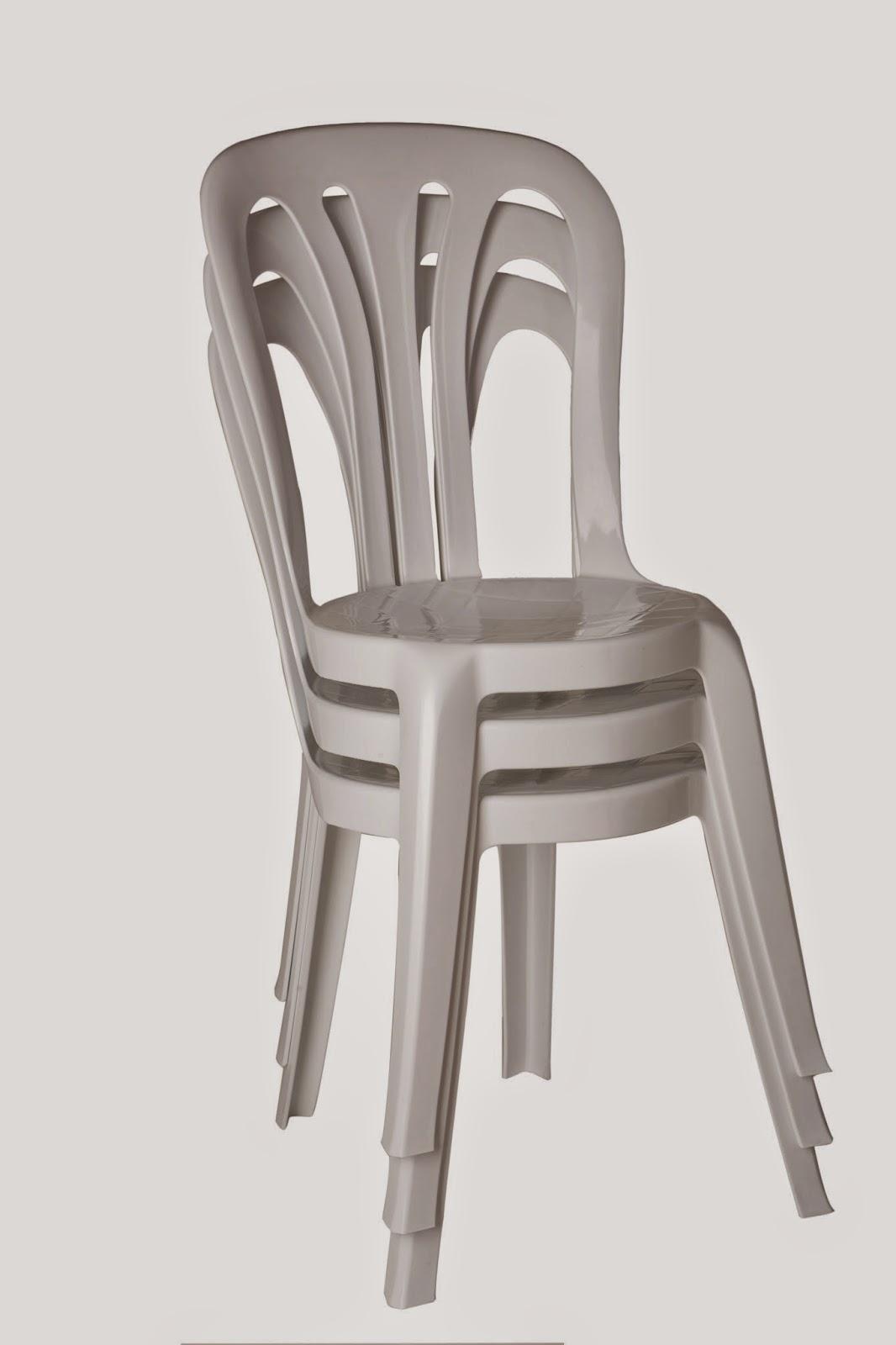 Materiel De Reception PRIMALUXBE Chaise Plastique Blanche