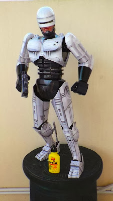 Robocop Papercraft Model