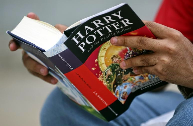 Harry Potter tops list of Facebook users' favourite books