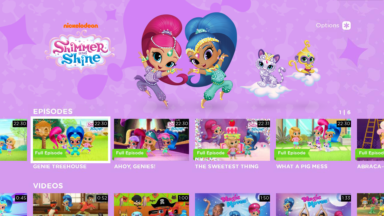 Nickalive nickelodeon usa launches nick jr app on roku for Nick s fish house menu