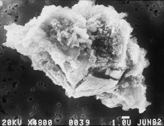 como saber si es meteorito ayuda Polvo+interplanetario