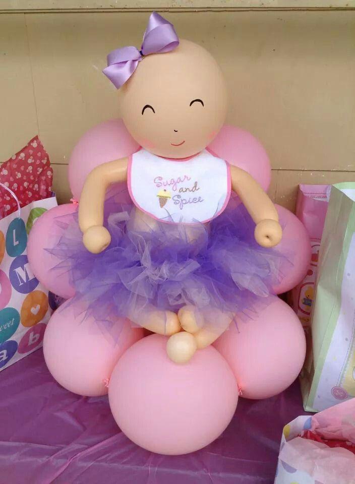 Efeite de bebe balão