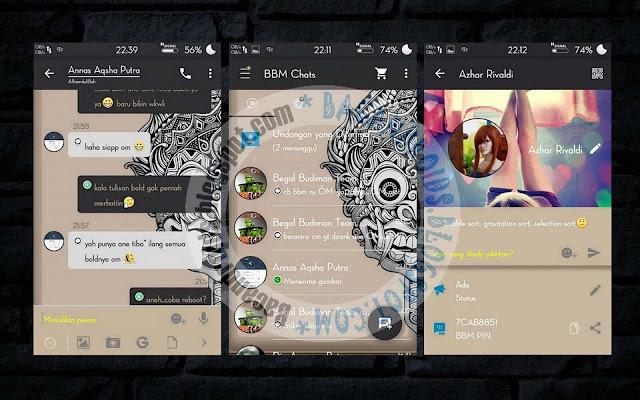 download BBM Mod Thema Aksara Versi 29.00.29