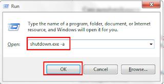 Cara Shutdown Otomatis Windows XP 7 8