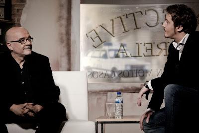 Javier Varela entrevista a Miguel Anxo Fernández en Delincuentes Torpes