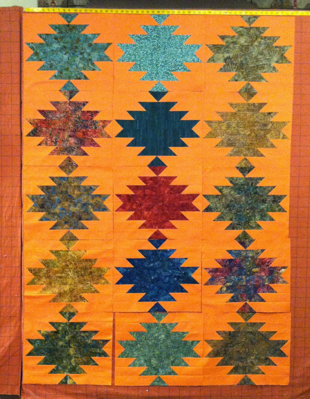 Sonoma Quilt - Cut Loose Press Pattern - I love the Southwest look of this quilt!